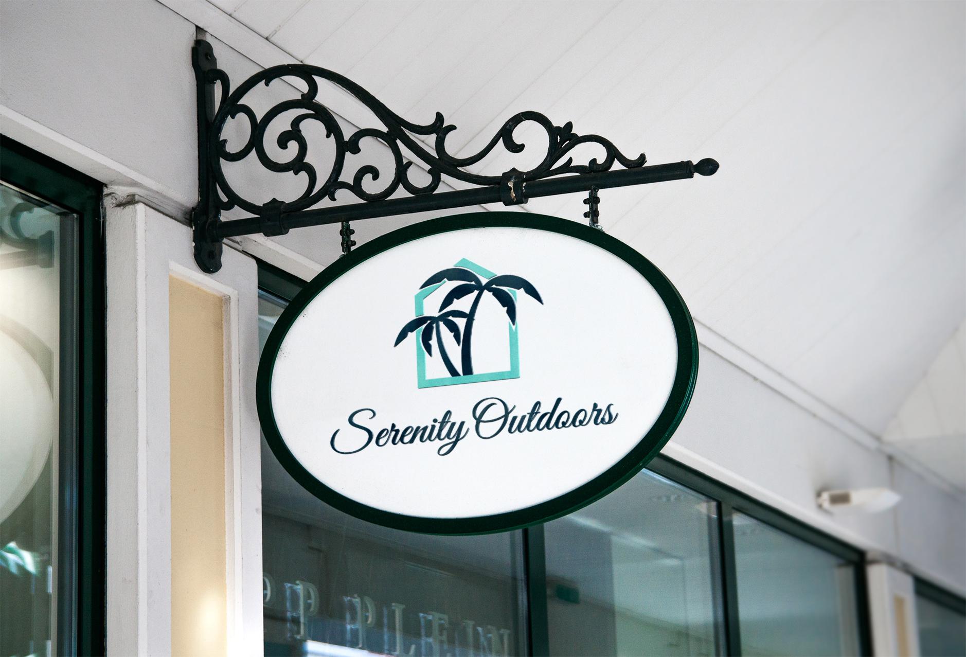 logo sign mockup