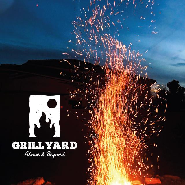 Grill Restaurant Logo Design & Branding | Grill Yard | Egypt